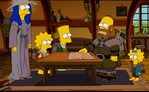 The Simpsons: nova abertura faz paródia com The Hobbit